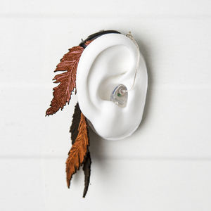 Feather - Hearing Aid Jewelry