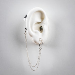 Loop with Chain - Hearing Aid Jewelry