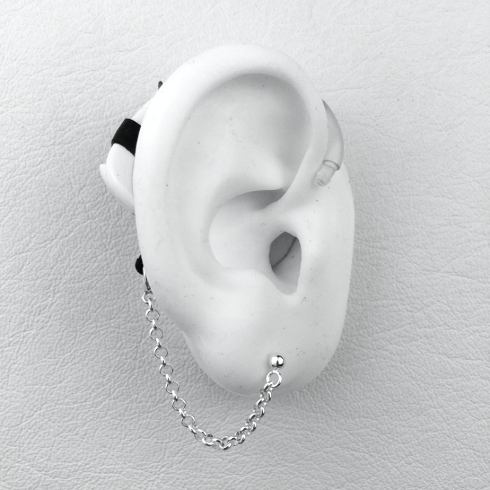 Rolo Chain - Hearing Aid Jewelry